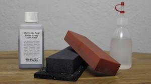 Siliziumkarbidstein mit Siliziumkarbidpulver